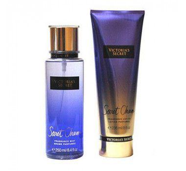 Kit Victoria's Secret Charm Creme Hidratante 236ML + Body Spash 250ML