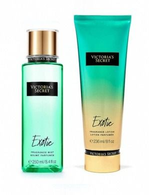 Kit Victoria Secret Exotic Hidratante + Splash