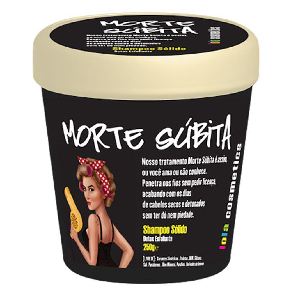 Lola Cosmetics Shampoo Esfoliante Morte Súbita 250g