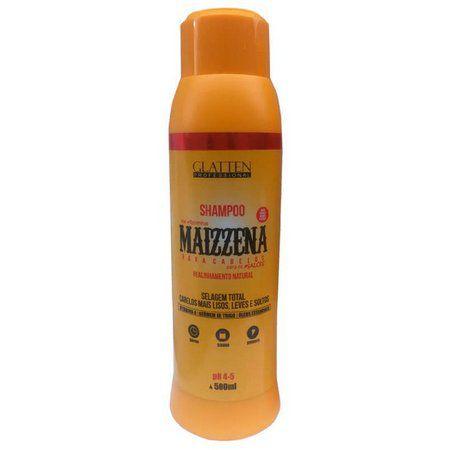 Maizzena para Cabelos Glatten Professional Shampoo 300ML