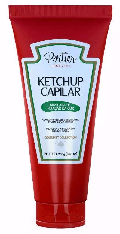 Portier - Ketchup Capilar Máscara de Fixação da Cor 250g Linha Gourmet