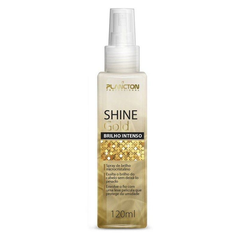 Shine Gold Professional Spray de Bilho Plancton 120ml