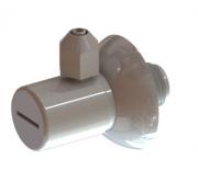 """Adaptador para purificadores e filtros de 1/4"""" ou 7,5mm"""