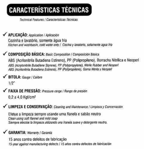 Torneira Amarela Mesa, Pia Cozinha, Lavatório Banheiro Cuba