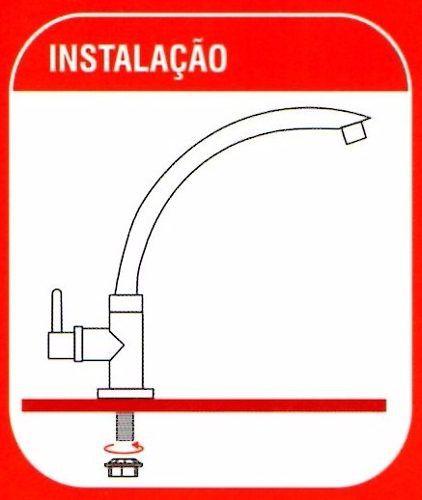 Torneira Preta Bica Móvel, Mesa, Pia Cozin, Banheiro Cuba