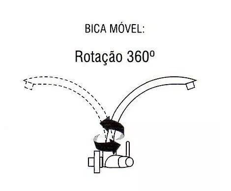 Torneira Amarela Bica Móvel Pia Parede, Cozinha, Banheiro