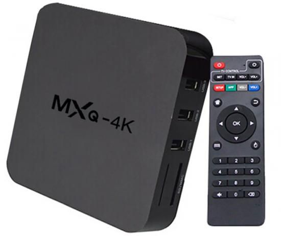 SMART TV BOX  4K ULTRA HD  (H.265  HEVC) 60fps