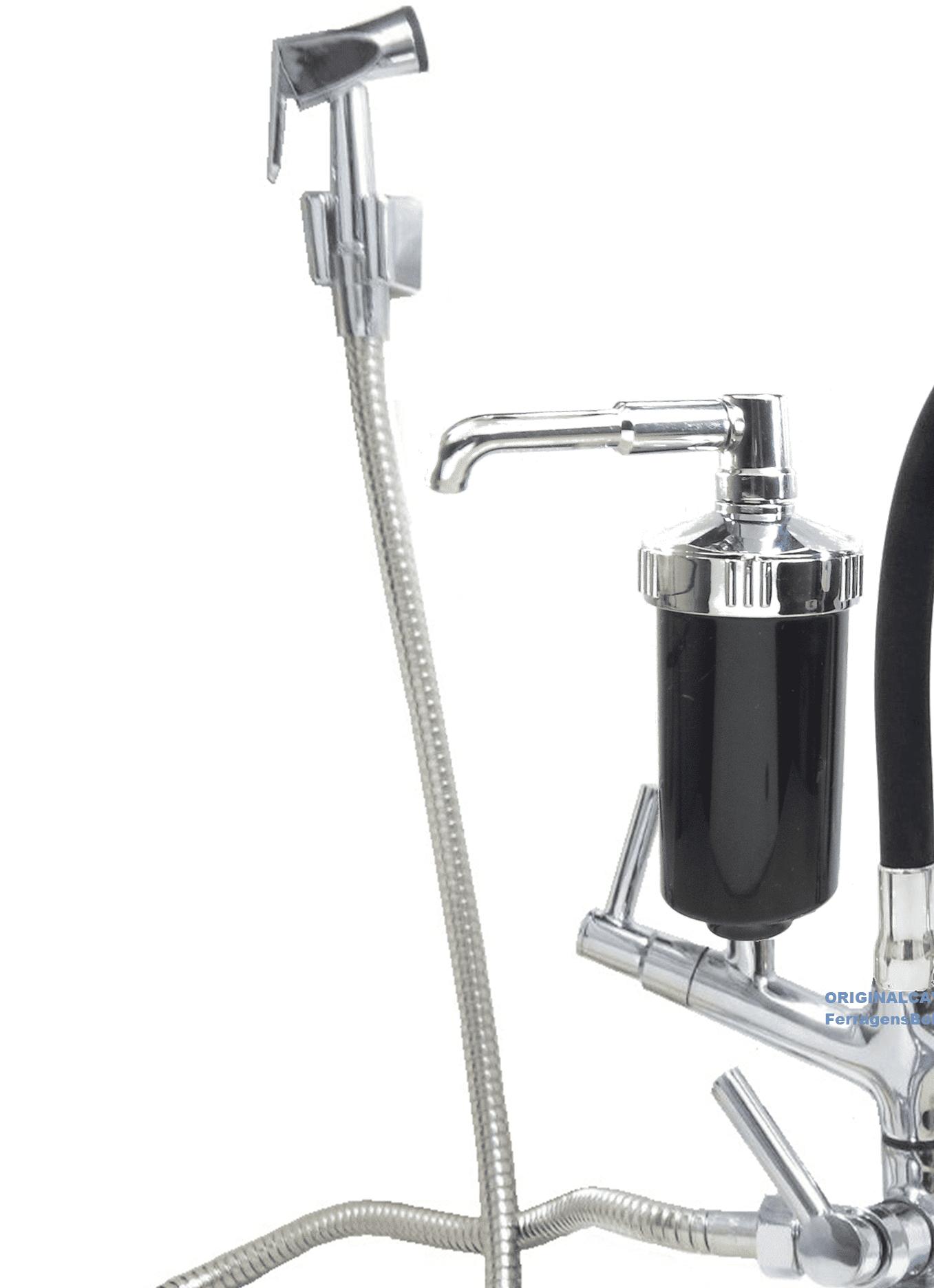 Torneira gourmet regulagem jato chuveirinho com ducha