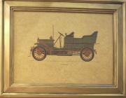 Quadro Dourado Spyker 1906
