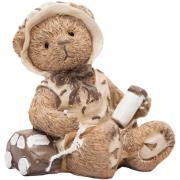 Urso Resina Carrinho