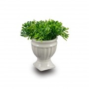 Vaso Cerâmica Alto Topiaria