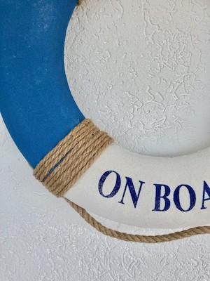 Boia Nautica Decorativa Welcome On Board