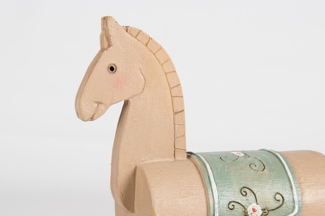 Cavalo Vintage Resina