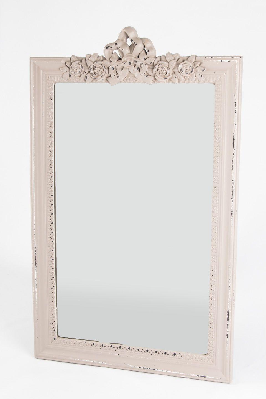 Espelho Moldura Madeira Entalhada