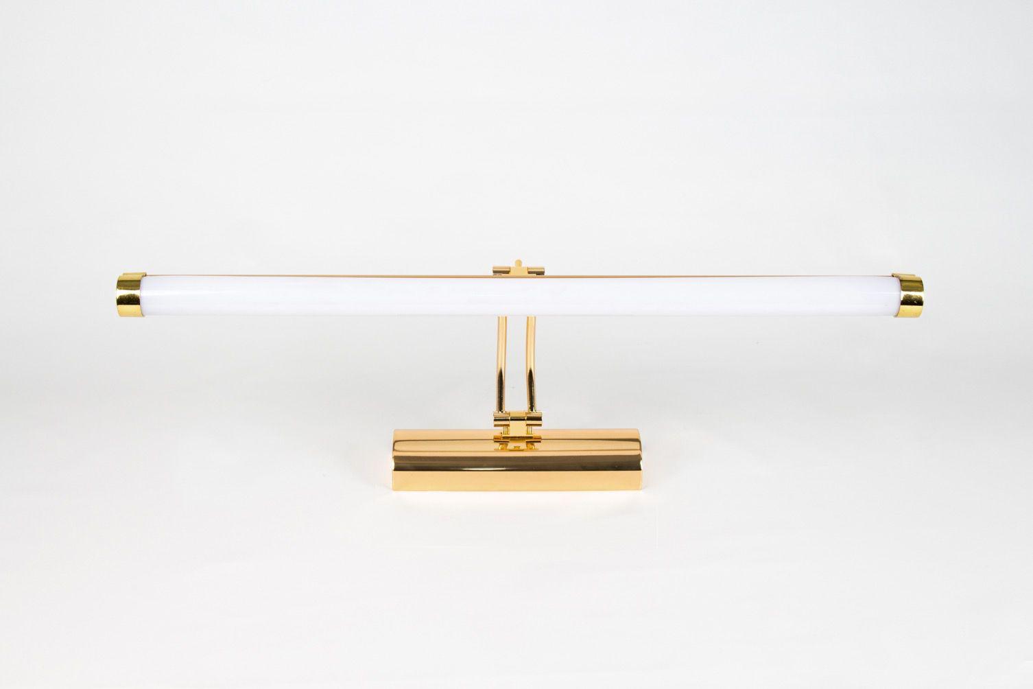 Luminária P/ Quadro Dourada
