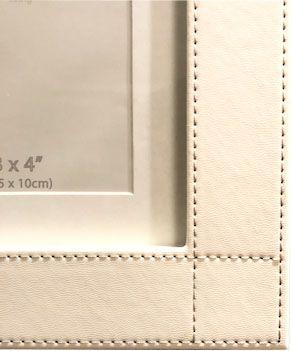 Porta Retrato Couro 43X40