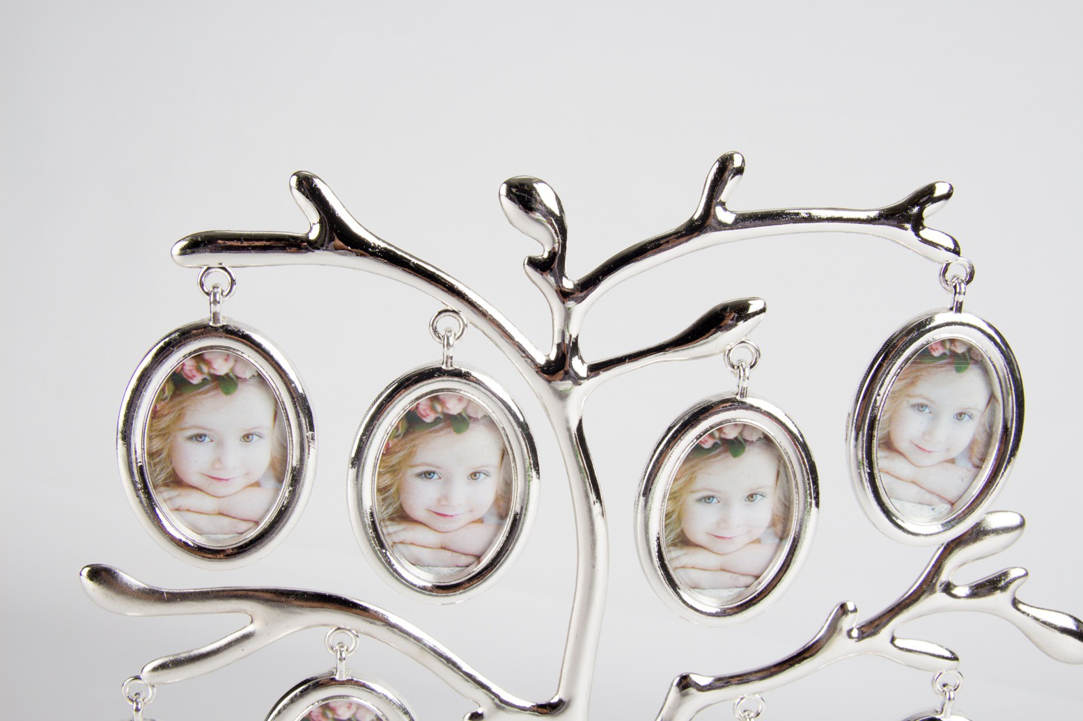 Porta Retrato Metal Árvore My First Year