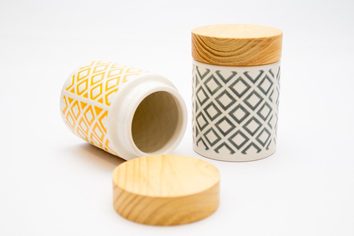 Pote Cerâmica Los Amarelo