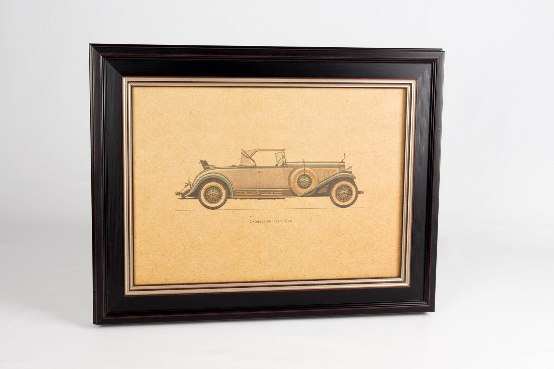 Quadro Preto Cadillac 1931