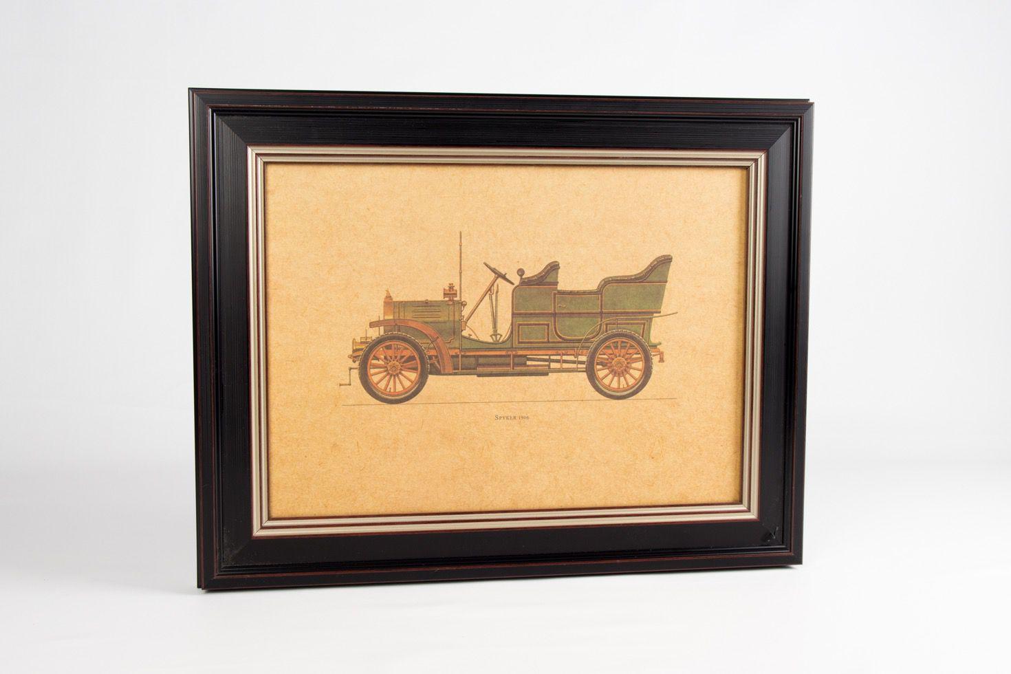Quadro Preto Spyker 1906