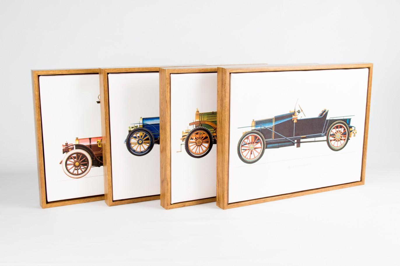 Quadro Tela Lancia 1909