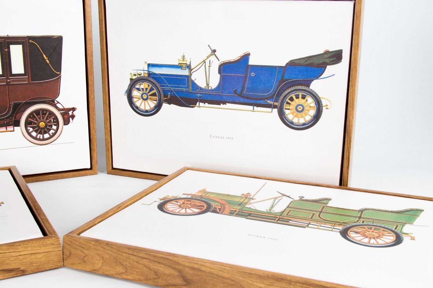 Quadro Tela Spyker 1906