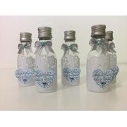 Kit com 10 Garrafinhas Bodas de Diamante 50ml