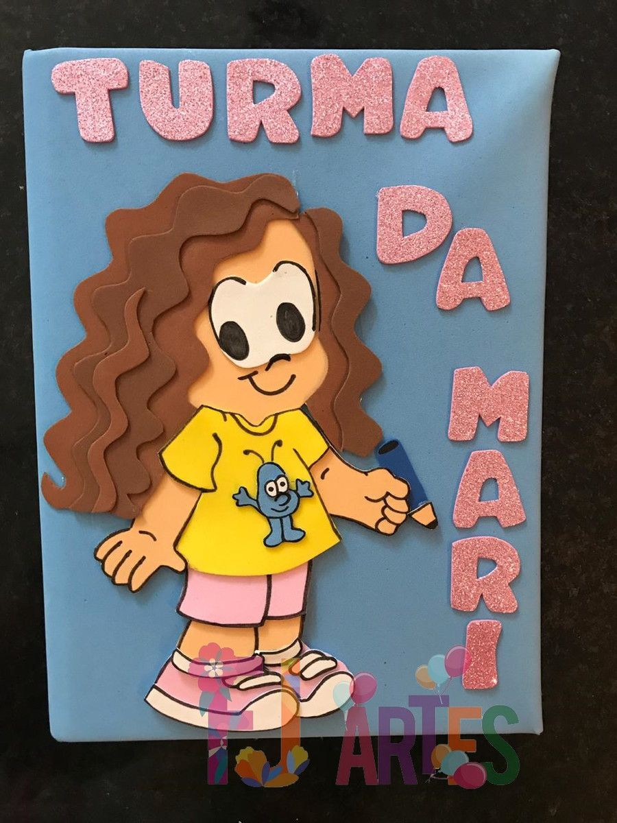 Caderno Personalizado Turma (NOME)