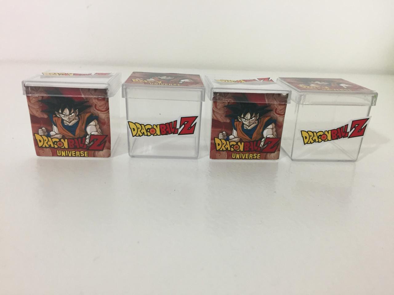 Kit com 10 Caixinhas de acrílico Dragon Ball Z