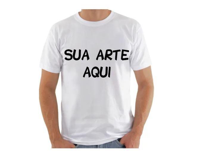 Camiseta Adulto Poliéster para sublimação
