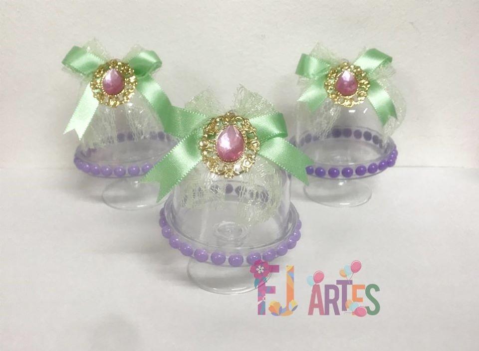 Kit com 10 Mini Cúpulas Sereismo luxo