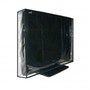 Capa Em Pvc Cristal Para Tv Led 26 - Fechada Atrás