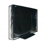 Capa Para Tv Led 55 Pvc Cristal - Fechada Atrás