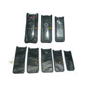 Kit 5 Capas Corino Controle Remoto Tv Dvd Blu-ray