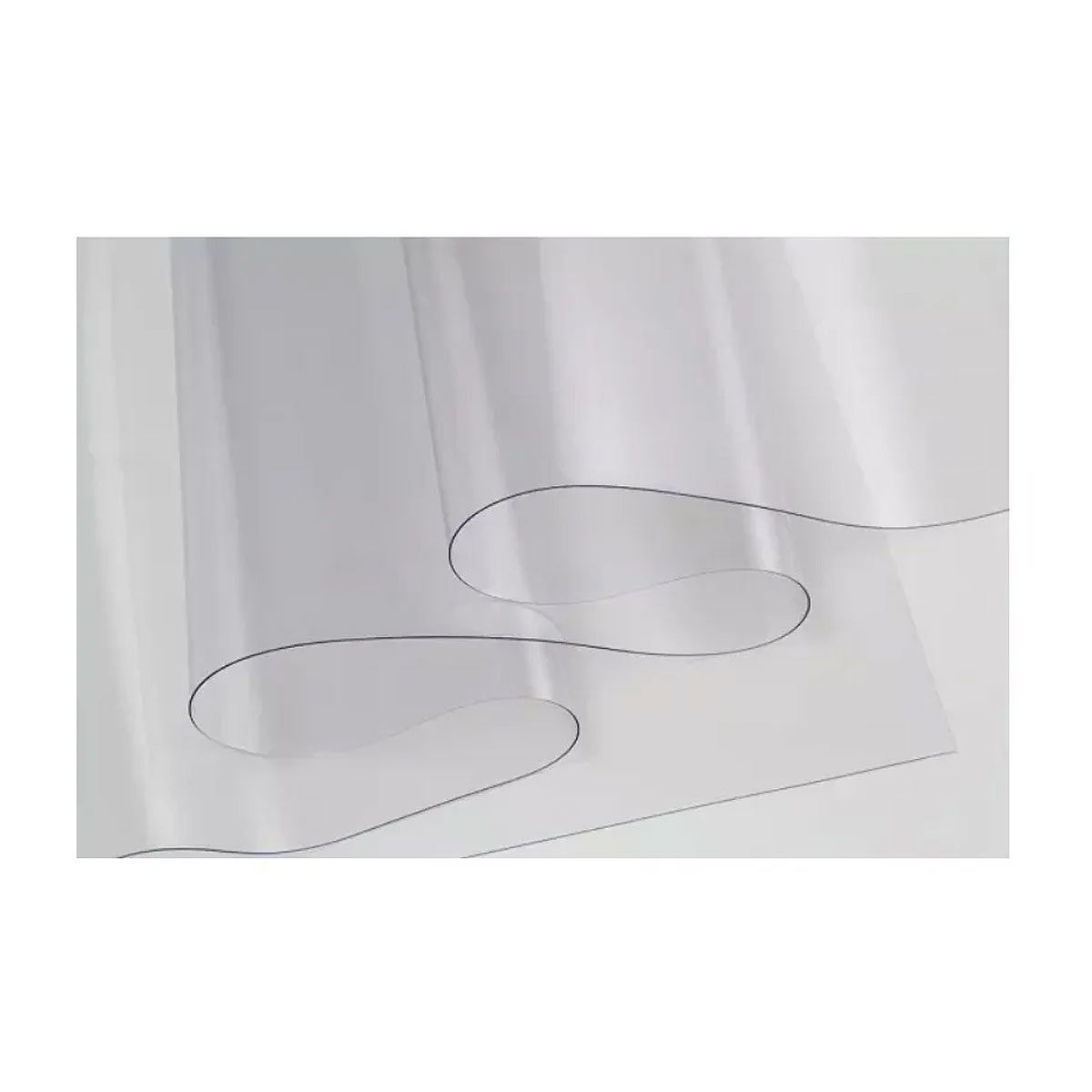 2 Metros Plástico Transparente Pvc Cristal 0,15mm