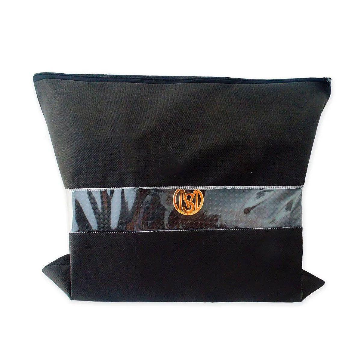 50 Un. Saco Para Bolsa Com Zíper - 43x50cm - Tnt