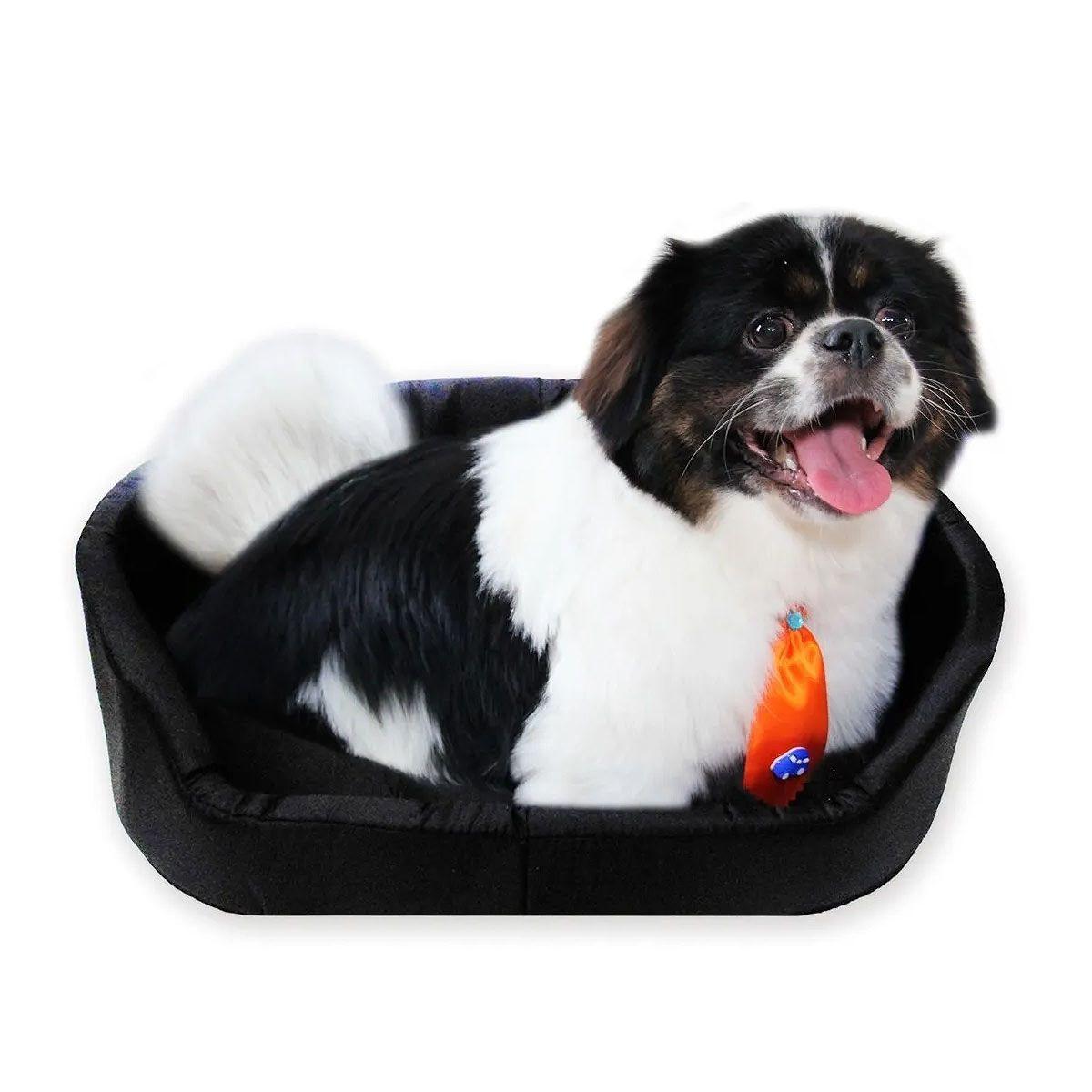 Caminha Para Cachorro Em Nylon Dublado - Tamanho P