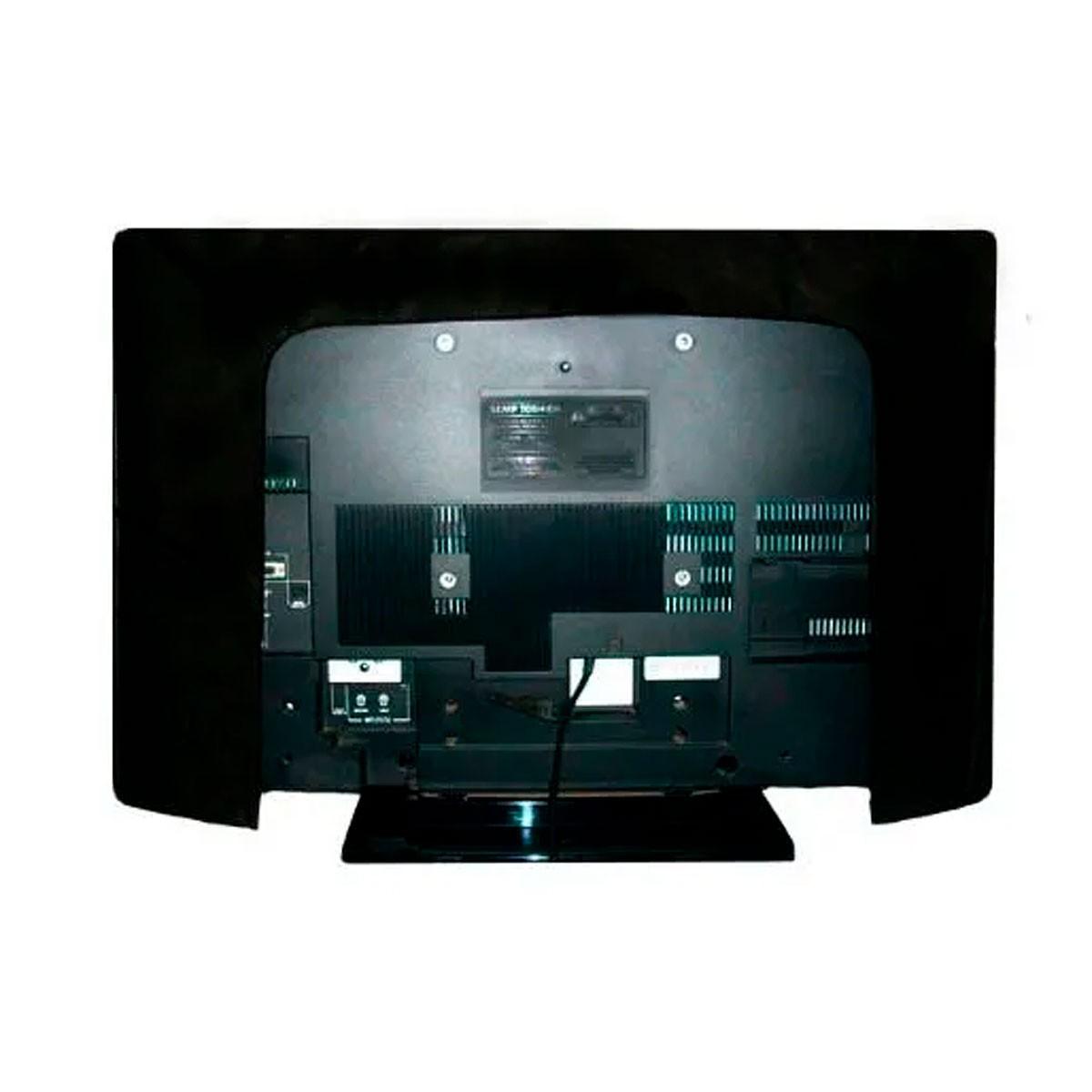 Capa De Luxo Em Corino Para Tv Lcd 50 - Suporte De Parede