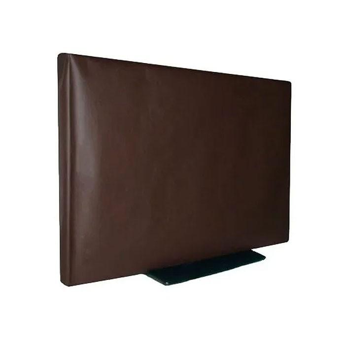 """Capa De Luxo Em Corino Para TV LED 32"""" - Aberta Atrás para TV em Suporte De Parede"""