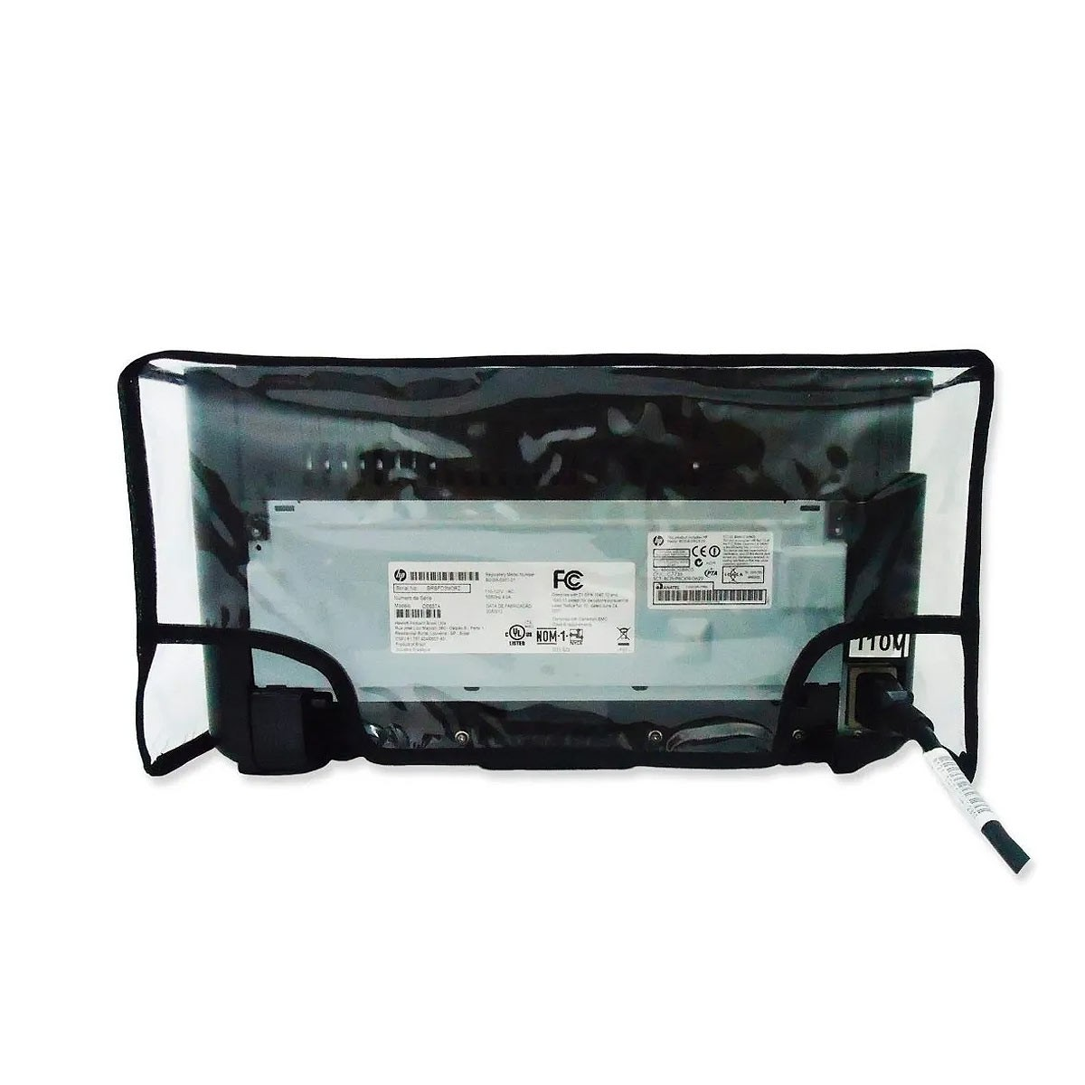 Capa Para Impressora Hp Laserjet P1102 Em Pvc Cristal