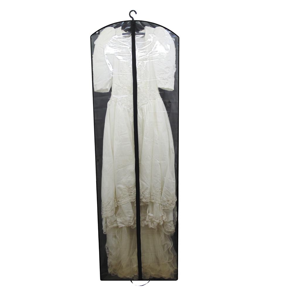 Capa para Vestido de Noiva Frente em PVC Cristal (transparente) - Sem Lateral