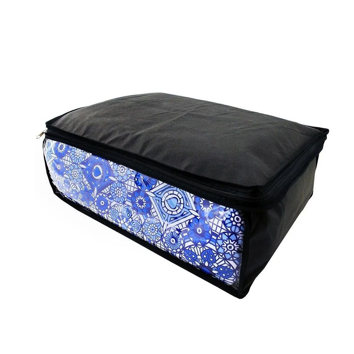 Capa Porta Edredom Cobertor Toalha Roupas - Kit Com 3 P M G