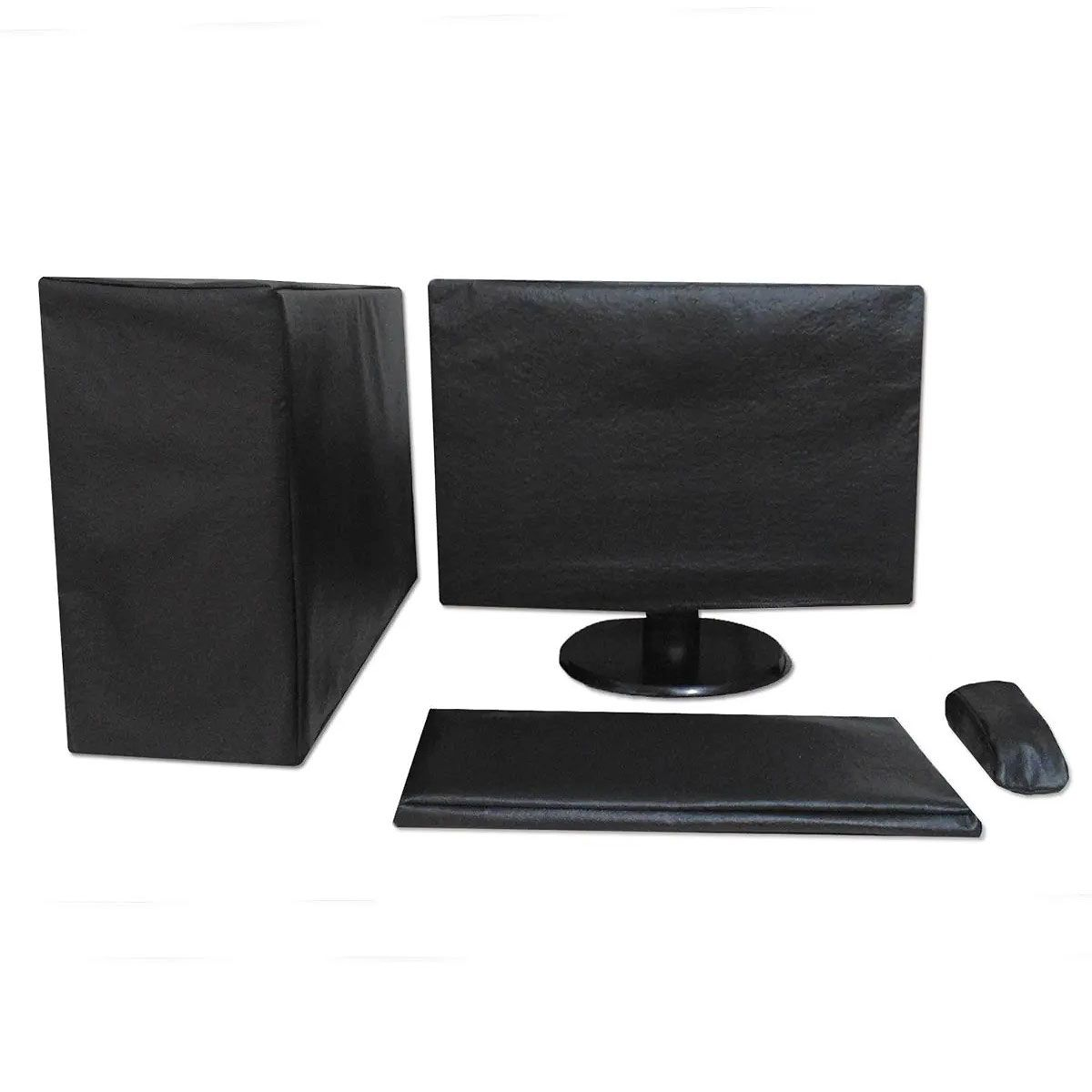 Kit Capa Para Cpu, Monitor, Teclado E Mouse - Sob Medida