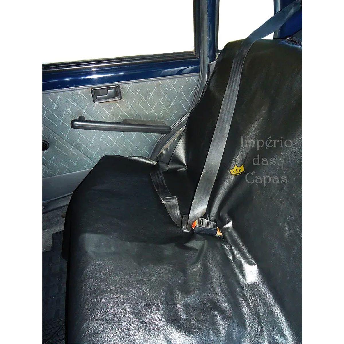 Kit Com 3 Capas Para Bancos De Carro - Dianteiro E Traseiro