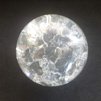 Acessórios Para Fonte - Bola Esfera Giratória De Vidro 4,5cm