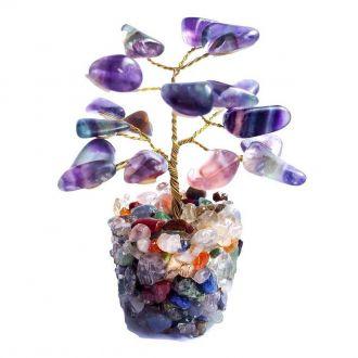Árvore de Pedras Fluorita 9cm
