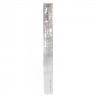 Bastão Bruto de Selenita Natural 16cm