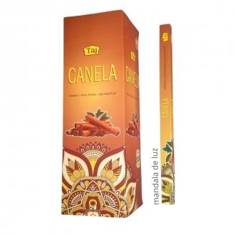 Box com 25 caixas de Incensos Taj Canela