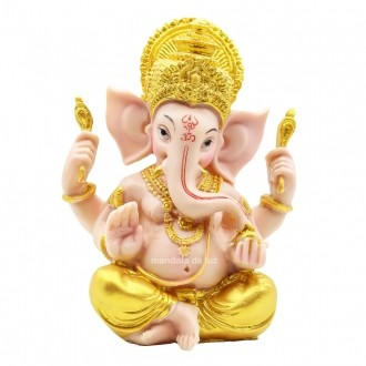 Estátua de Ganesha Colorido R  14cm