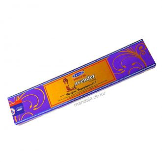 Incenso Lavender Satya Natural Lavanda Massala